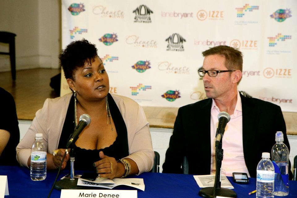 The Curvy Fashionista, Marie Denee on Body Image panel