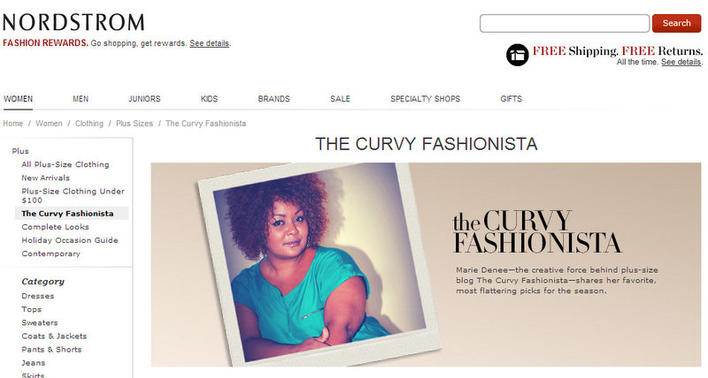 The Curvy Fashionista and Nordstrom Encore