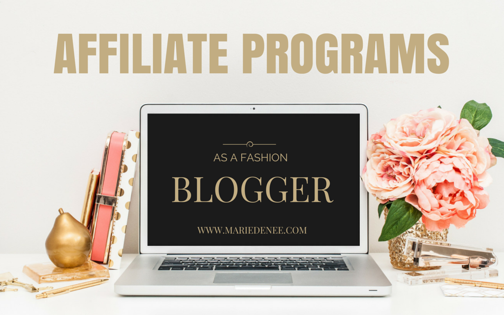 affiliate programs fashion blogger