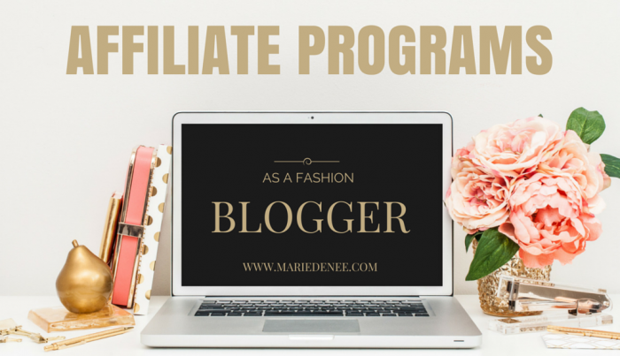 affiliate programs fashion blogger