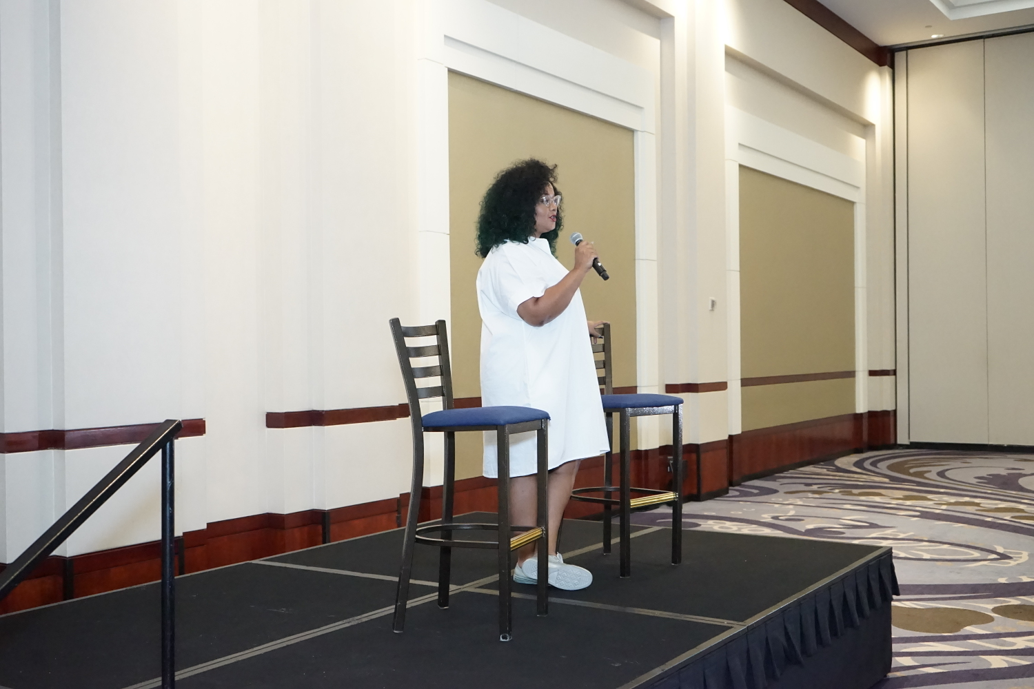 Marie Denee Speaks at the TCFStyle Expo